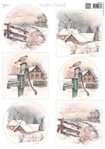 Marianne D Knipvellen Mattie's Mooiste - Dutch Winter MB0182 A4 6 designs (09-19)
