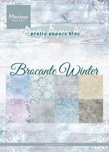 Marianne D Paperpad Brocante Winter PK9165 A5 15x21cm (09-19)