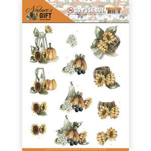 SB10384 3D Pushout - Precious Marieke - Nature's Gift - Yellow Gift