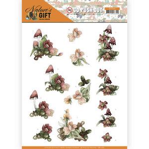 SB10383 3D Pushout - Precious Marieke - Nature's Gift - Red Gift