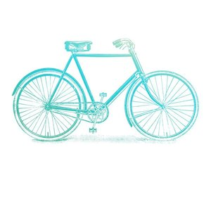 CO726842 Couture Creations – Mini Stamp - Gentleman's Emporium - Bicycle (1pc)