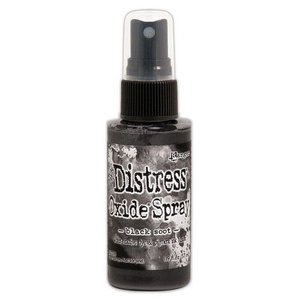 Ranger Distress Oxide Spray - Black Soot TSO67566 Tim Holtz