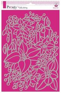 Pronty Stencil Inter Flowers 470.765.022 A4 Julia Woning