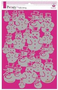 Pronty Stencil Snowman 470.765.019 A4 Julia Woning