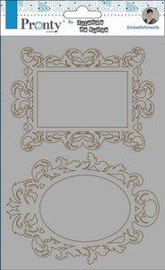 Pronty Chipboard Barok frames  A5 492.010.004 by Jolanda