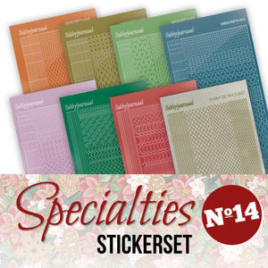 Specialties 14 Stickerset
