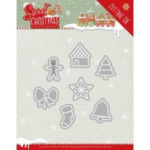 YCD10182 Dies - Yvonne Creations - Sweet Christmas - Sweet Christmas Cookies