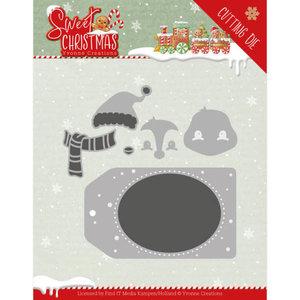 YCD10179 Dies - Yvonne Creations - Sweet Christmas - Sweet Christmas Penguin