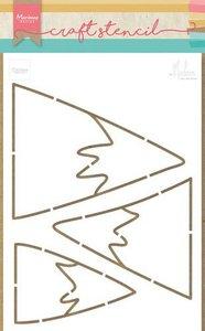Marianne D Craft Stencil bergen by Marleen PS8045 149x149 mm