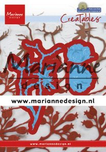 Marianne D Creatable Petra's katoen LR0629 52x92 mm, 28x51,5 mm