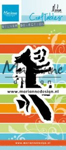 Marianne D Craftable vos by Marleen CR1484 88x44 mm