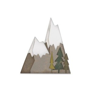 Sizzix Thinlits Die  set -  7PK Alpine 664225 Tim Holtz