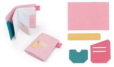 Sizzix Bigz XL Die - Traveler's Notebook Pages & Pockets 663627 Katelyn Lizardi