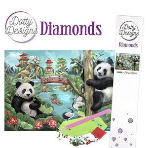 DDD10002 Dotty Designs Diamonds - Panda Bears