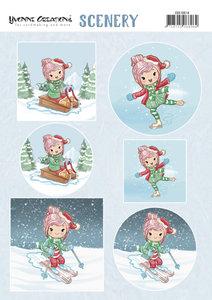 CDS10014 Scenery - Yvonne Creations Lola - Winter