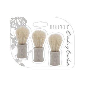 Nuvo Blending brushes - borstels 3 stuks 970N