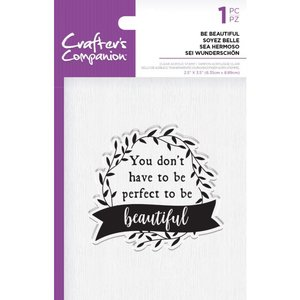Crafter's Companion Be Beautiful Clear Stamps (CC-ST-CA-BEBEA)