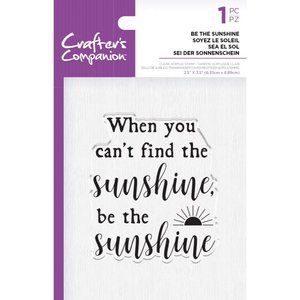 Crafter's Companion Be the Sunshine Clear Stamps (CC-ST-CA-BTSUN)