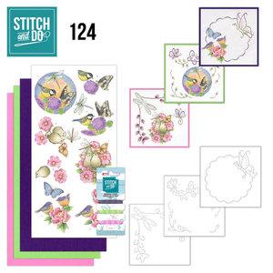 Stitch and Do 124 - Happy Birds