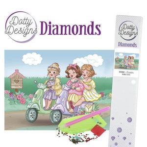 DDD10007 Dotty Designs Diamonds - Bubbly Girls - Scooter