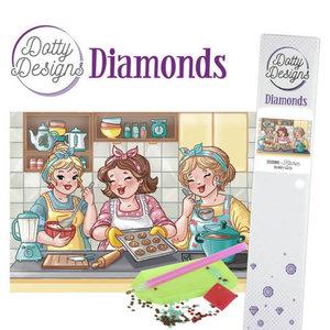 DDD10006 Dotty Designs Diamonds - Bubbly Girls - Kitchen