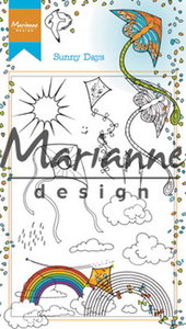 HT1635 - Marianne Design - Clear Stamps Hetty's Sunny days