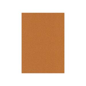 BULK 12 Linnenkarton A4 (29,7x21cm) Card Deco Koffiebruin per 125 vellen