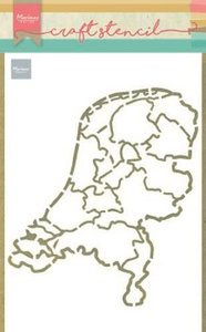 Marianne D Craft Stencil Nederland PS8059 210x149mm