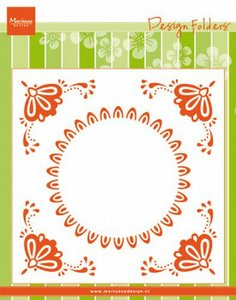 Marianne D Embossing folder Hollandse tegel DF3457 152x154mm