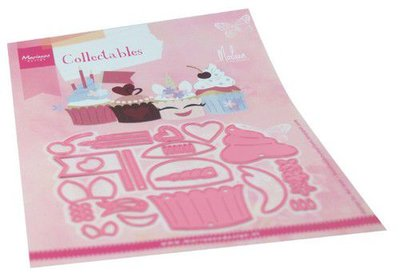 Marianne D Collectable Cupcakes by Marleen COL1481 120x94mm