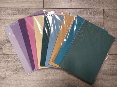 PAK007 - A5 - 10 pakjes a 10 vel - Glad - Assortiment kleuren