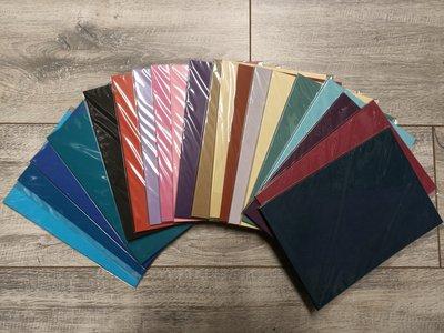 PAK008 - A5 - 20 pakjes a 10 vel - Glad - Assortiment kleuren