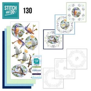 STDO130 Stitch and Do 130ï¾- Amy Design -ï¾Wild Animals Outback