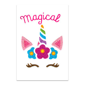Craft Artist Diamond Art Card Kits - Unicorn Magical
