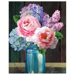 Craft Artist Diamond Art - Hydrangea Lilac