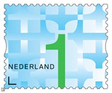 Nederland 1 Postzegel