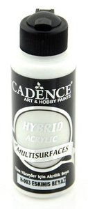 Cadence Hybride acrylverf (semi mat) Ancient - wit 01 001 0003 0120  120 ml