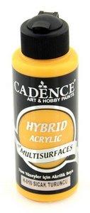 Cadence Hybride acrylverf (semi mat) Warm oranje 01 001 0010 0120  120 ml