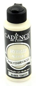 Cadence Hybride acrylverf (semi mat) Taffy 01 001 0005 0120  120 ml