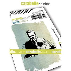 Carabelle Studio • Cling stamp monsieur coeur SMI0242