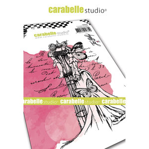 SA60497 Carabelle Studio • Cling stamp A6 dressform
