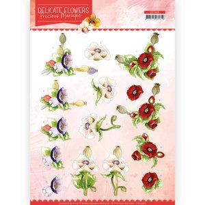 CD11489 3D Cutting sheet Precious Marieke Delicate Flowers Poppy