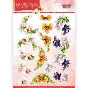 CD11488 3D Cutting sheet Precious Marieke Delicate Flowers Orchid