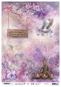 Studio Light Rice Paper A4 vel Jenine's Mindful Art 4.0 nr.26 RICEJMA26