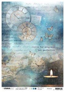 Studio Light Rice Paper A4 vel Jenine's Mindful Art 4.0 nr.24 RICEJMA24