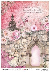 Studio Light Rice Paper A4 vel Jenine's Mindful Art 4.0 nr.23 RICEJMA23