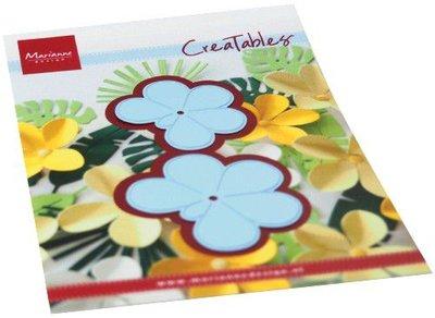 Marianne Design Creatable Frangipani-bloem LR0666 41x42.5mm 50x52mm