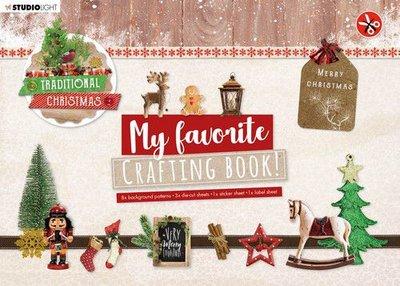 Studio Light Crafting Book MF Traditional Christmas Elements nr.96 STANSBLOKSL96 210x297mm (08-20)
