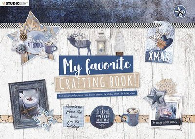 Studio Light Crafting Book MF Snowy Afternoon Elements nr.95 STANSBLOKSL95 210x297mm (08-20)