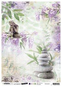 Studio Light Rice Paper A4 vel Jenine's Mindful Art 5.0 nr.28 RICEJMA28 (08-20)